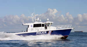 Cygnet V WA Police Vessel with Model 996 Centrifuges